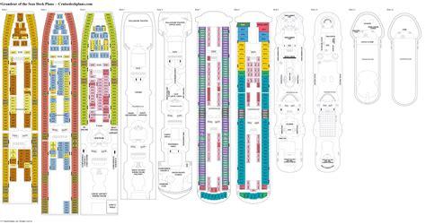 Deck Plan Grandeur Of The Seas