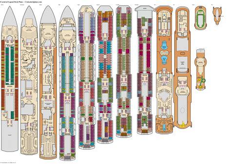 Deck Plans Carnival Legend