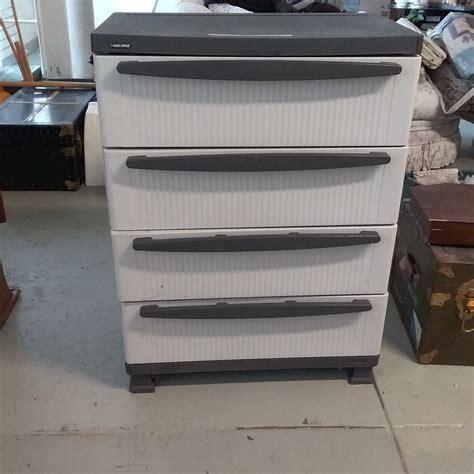 Decker 4 Drawers Storage Shelf