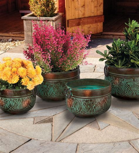 decorative flower pots and planters