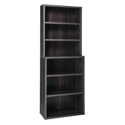 Decorative 6 Shelf Standard Bookcase