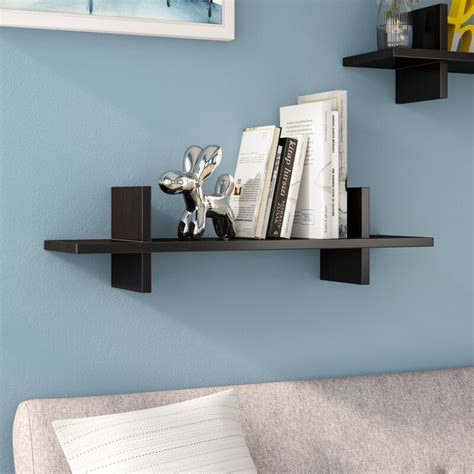 Decorative H Shaped Floating shelf