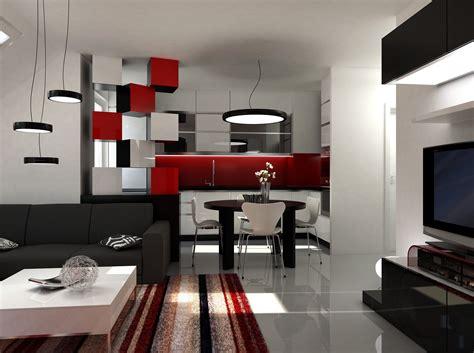 Deko Wohnzimmer Rot