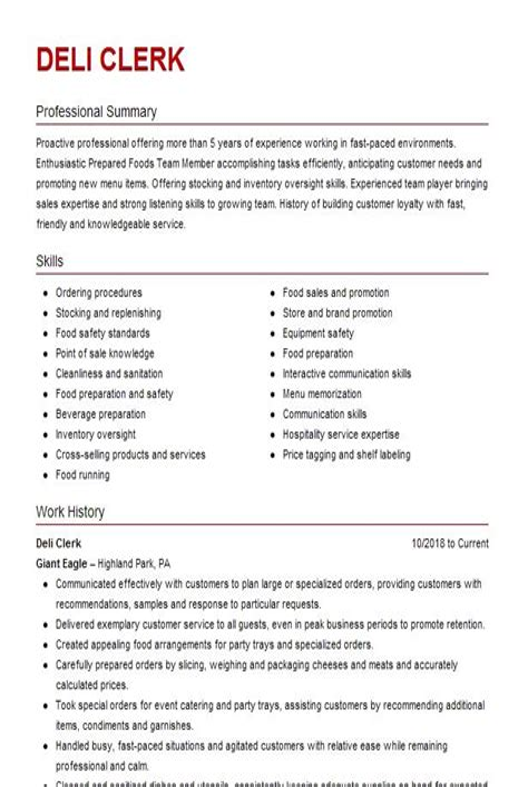 Services Manager Resume VisualCV Deli Clerk Sample Business Contingency Plan Samples For