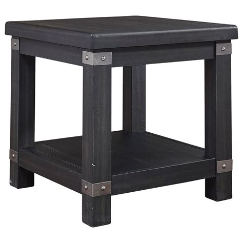 Delmar Contemporary End Table