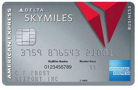 Delta Business Credit Card Visa International Credit Cards Delta Air Lines