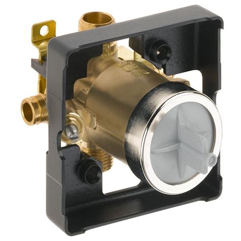 Delta MultiChoice Universal Mixing Rough-In Valve with Service Stops