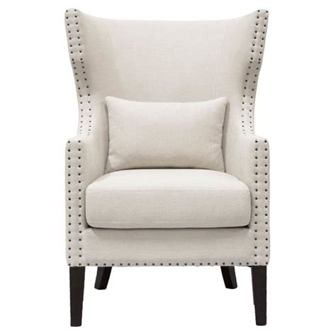 Demaris Traditional Wingback Chair