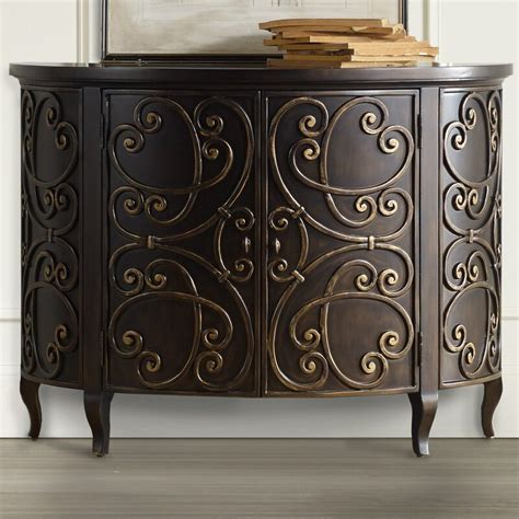 Demilune 2 Door Accent Cabinet