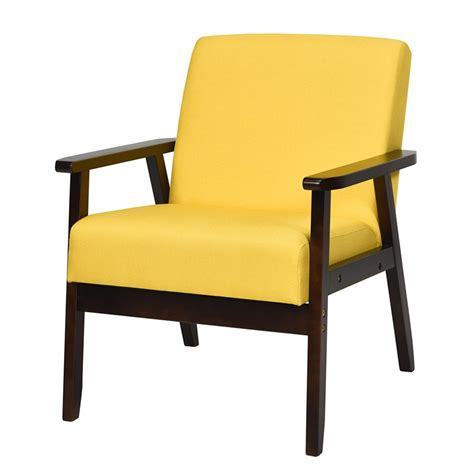 Derouen Fabric Upholstered Wooden Armchair