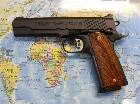 Desert-Eagle Desert Eagle 1911 Government Model.