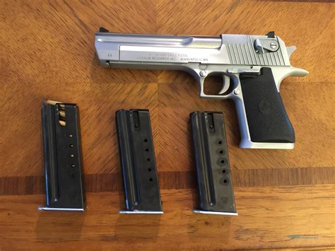 Desert-Eagle Desert Eagle 44 Mag Brushed Chrome For Sale.