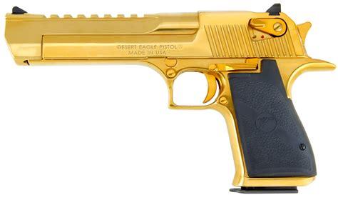 Desert-Eagle Desert Eagle 44 Titanium Gold.