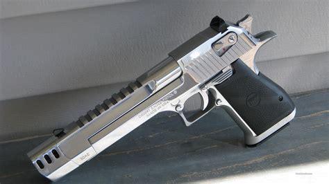 Desert-Eagle Desert Eagle 50 Ae Brushed Chrome W Muzzle Brake