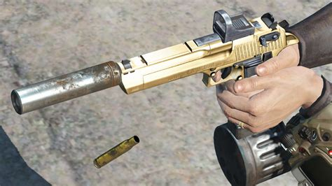 Desert-Eagle Desert Eagle 50 With Silencer.