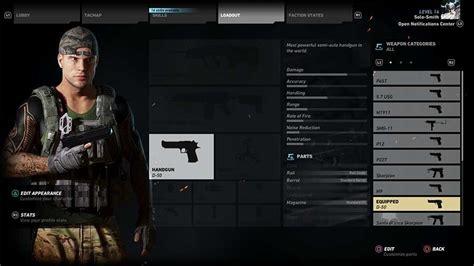 Gun-Shop Desert Eagle Tom Clancy Ghost Recon Wild Lands.
