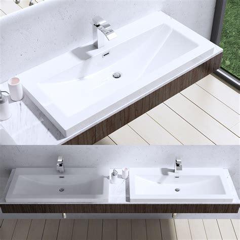 Design Gussmarmor Waschbecken Stand Waschtisch Waschplatz Colossum 19