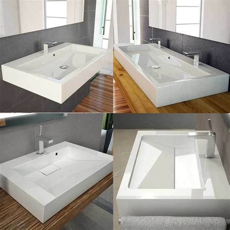 Design Waschbecken Mit Ablaufschlitz