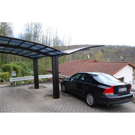 Design Carport Alu Aluminium Edelstahl Look