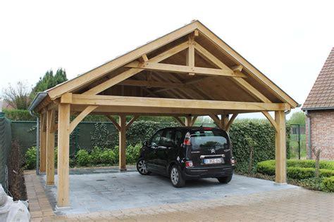 Design Carport Hout