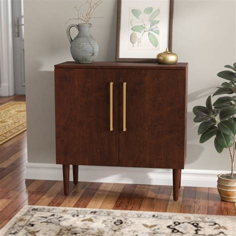Desirae 2 Drawer Cupboard Accent Cabinet