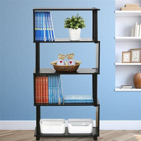 Desirae Etagere Bookcase