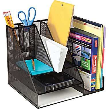 Desk Organizer Design Brief