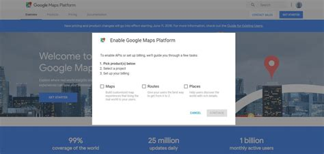 Google Api Credit Card