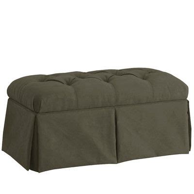 Deville Fabric Storage Bench