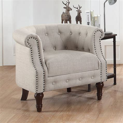 Dia Nailhead Club Chair