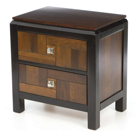 Diamondback 2 Drawer Nightstand