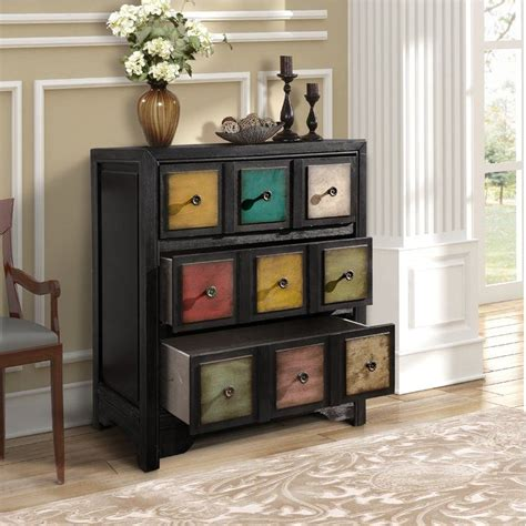 Dickison 3 Drawer Accent Chest