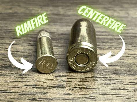 Ammunition Difference Between Centerfire And Rimfire Ammunition.