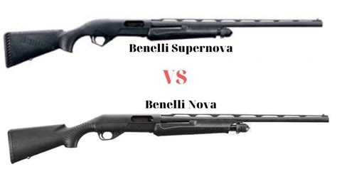 Benelli Difference Between The Benelli Nova And Supernova.