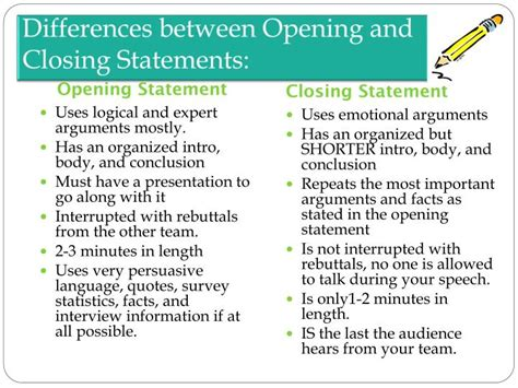 Court Opening Statement Defendant Differences Between Opening Statements Closing Arguments