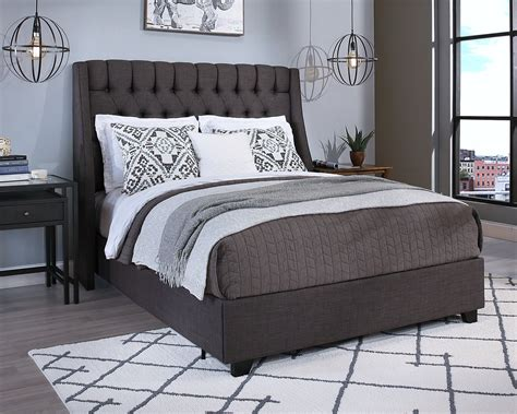 Difranco Upholstered Panel Bed with Mattress by Darby Home Co