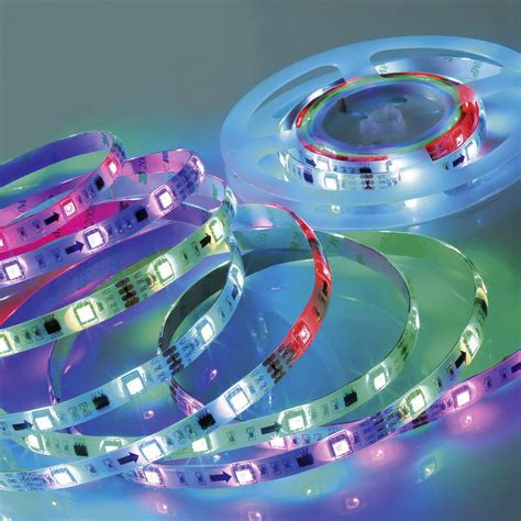 Digital Led Strips Mit Fernbedienung Rgb Lichteffekte Steuern