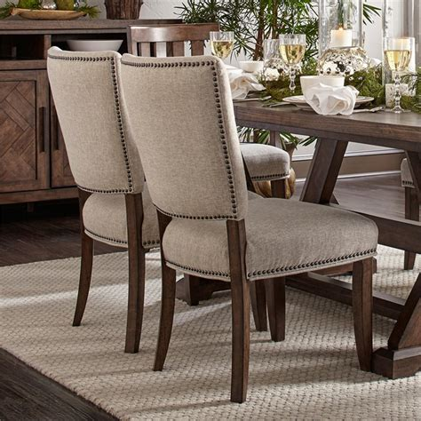 Dimas Cushioned Upholstered Dining Chair (Set of 2)