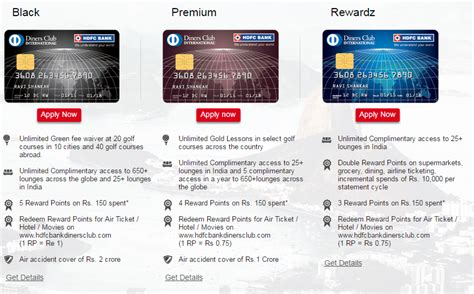 Hdfc Credit Card Deals And Offers Diners Club Black Best International Credit Card In