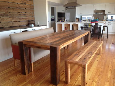 Dining Table Wooden Bench