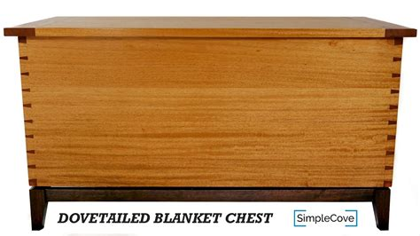 directions on how to build a blanket chest