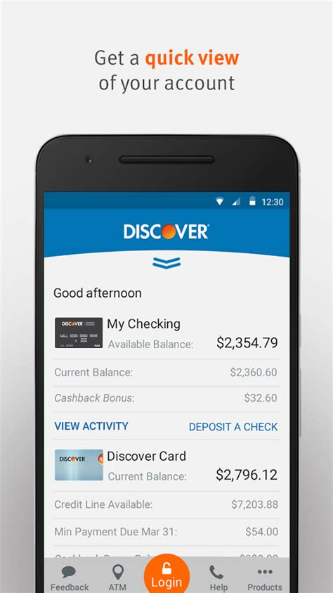 Discover Credit Card App Discover Mobile Apps On Google Play
