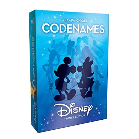 Disney Credit Card For Business Usaopoly Disney Family Edition Codenames Card Game
