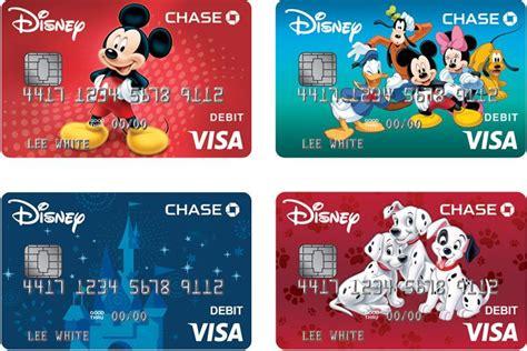 Disney Visa Credit Card Designs Disney Visa Debit Card From Chase