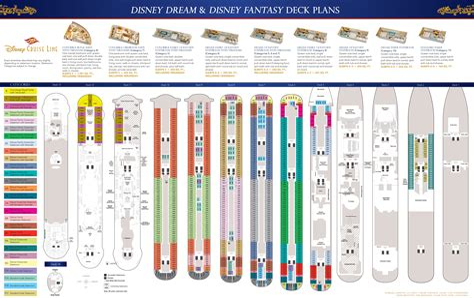 Disney Cruise Line Deck Plans