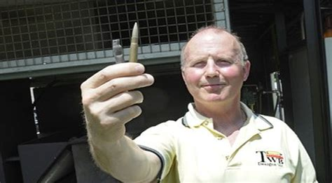 Ammunition Disposing Live Ammunition.