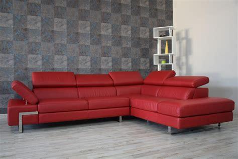 Divano Moderno Rosso
