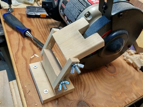 Diy Bench Grinder Tool Rest