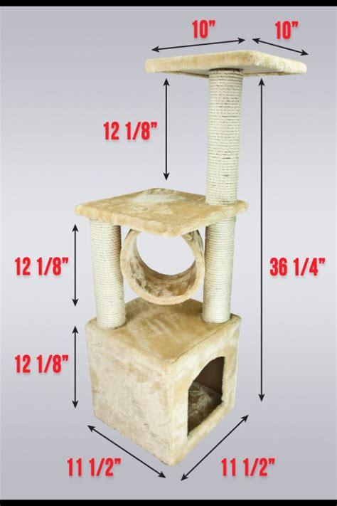 Diy Cat Tree Plans