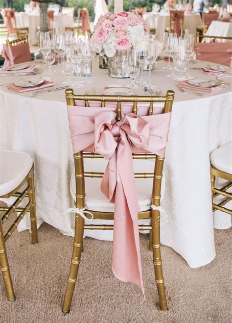 Diy Chair Bows For Weddings